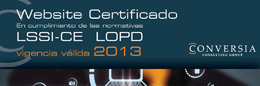 SelloWebsiteCertificado LSSILOPD 2013-mini